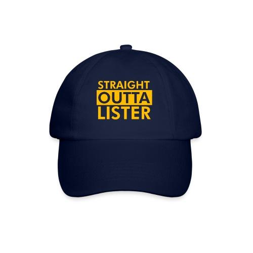 Straight Outta Lister - Basebollkeps
