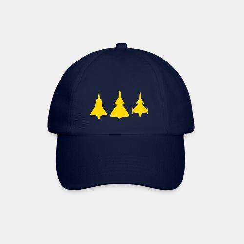 Draken / Viggen / Gripen / jet fighter - Baseball Cap