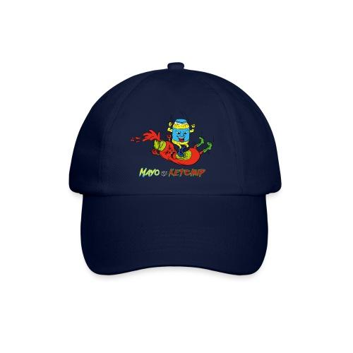 Mayo VS Ketchup - Cappello con visiera