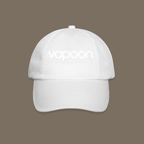 Vapoon Logo simpel 01 - Baseballkappe