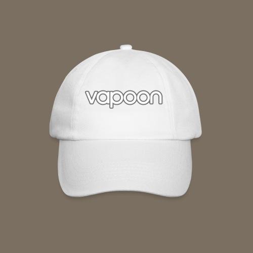 Vapoon Logo simpel 2 Farb - Baseballkappe