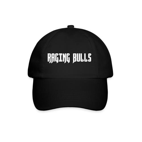 Raging Bulls Logo in Farbe und Schrift - Baseballkappe