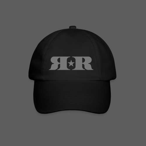 RR White Mirror Logo - Baseball Cap
