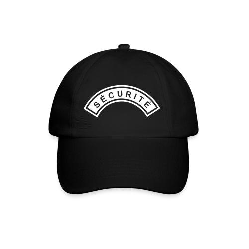 Ecusson Sécurité demilune - Casquette classique