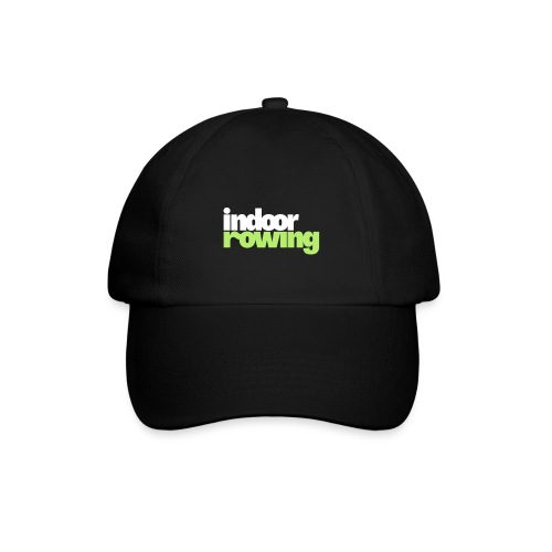 indoor rowing logo 2c - Baseball Cap