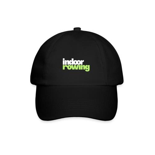 indoor rowing logo 2c - Baseball Cap
