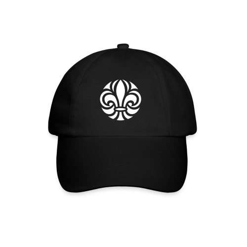 Scouterna-symbol_white - Basebollkeps