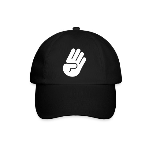 hand Black - Baseballkappe