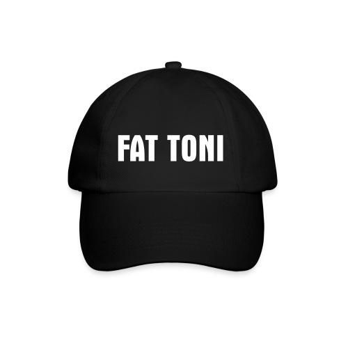 FAT TONI Logo weiss - Baseballkappe