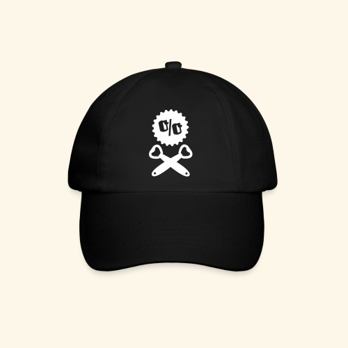 Bier T Shirt Design Piratenflagge - Baseballkappe
