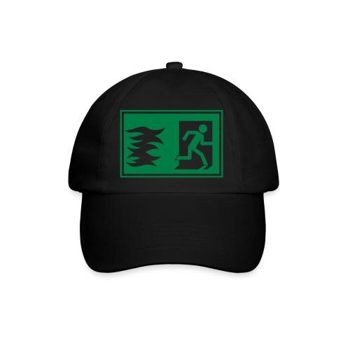 Notausgang / Feueralarm Symbol - Baseballkappe