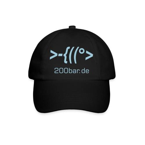 200bar fisch cap - Baseballkappe