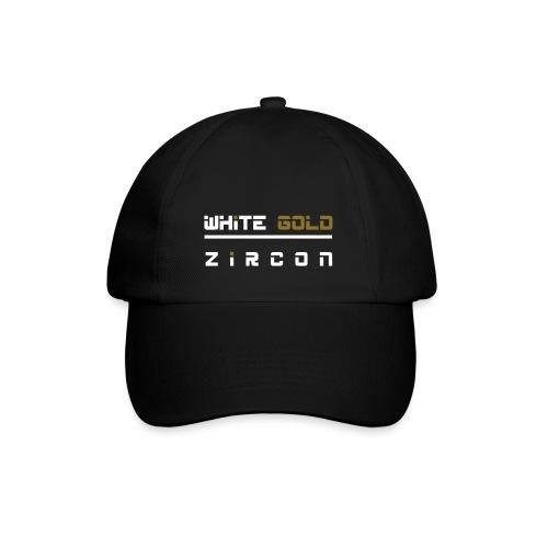 white gold03 - Baseballkappe