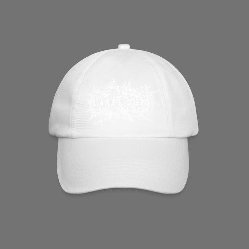 carpe diem (hvid) - Baseballkasket