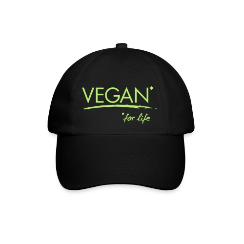 vegan for life 1c - Baseballkappe