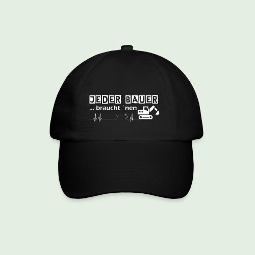 Jeder Bauer ... braucht 'nen Bagger - Baseballkappe