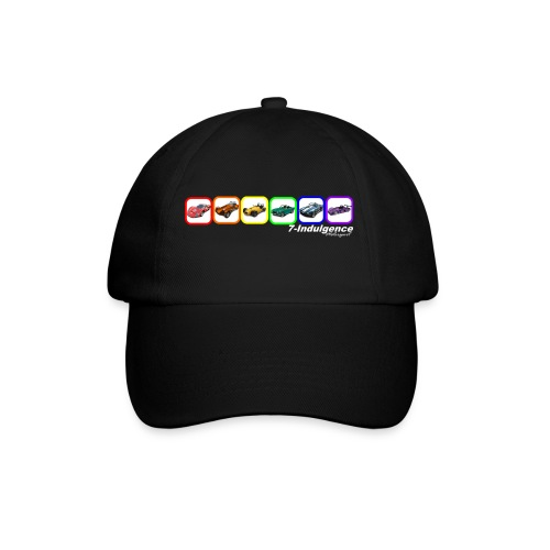 Rainbow Cars - Baseball Cap