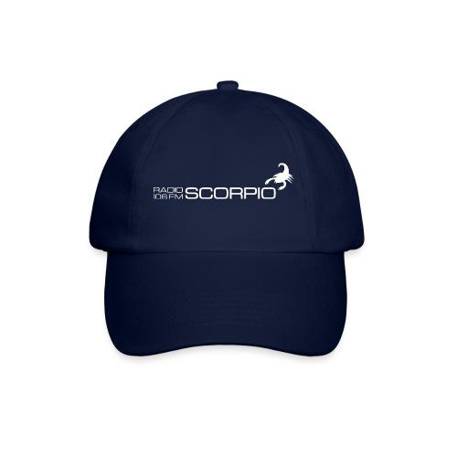 scorpio logo wit - Baseballcap
