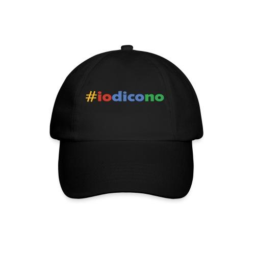 #iodicono - Cappello con visiera