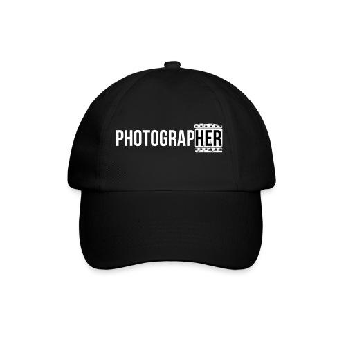 Photographing-her - Baseball Cap