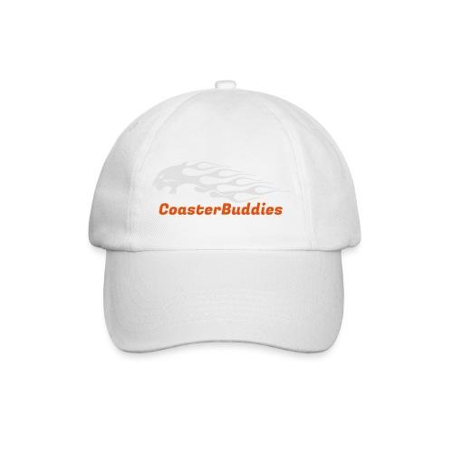 Coaster-Buddies Logo weiß - Baseballkappe