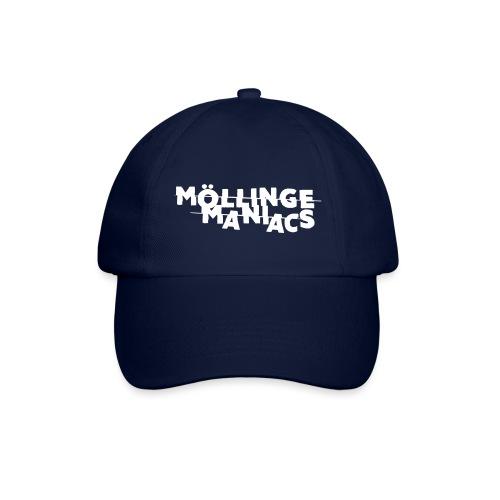 Möllinge Maniacs Vit logga - Basebollkeps