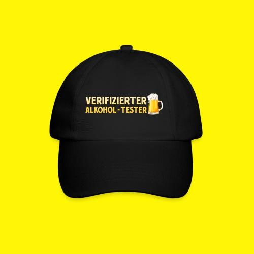 Verifizierter Alkohol-Tester - Baseballkappe