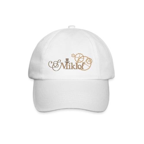 miklof logo gold outlined 3000px - Baseball Cap