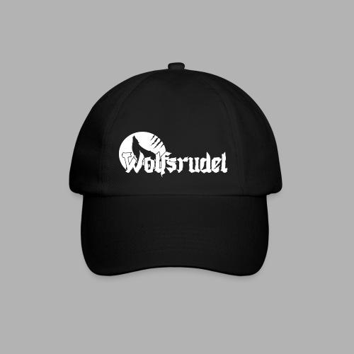 Logo Wolfsrudel Weiß - Baseballkappe