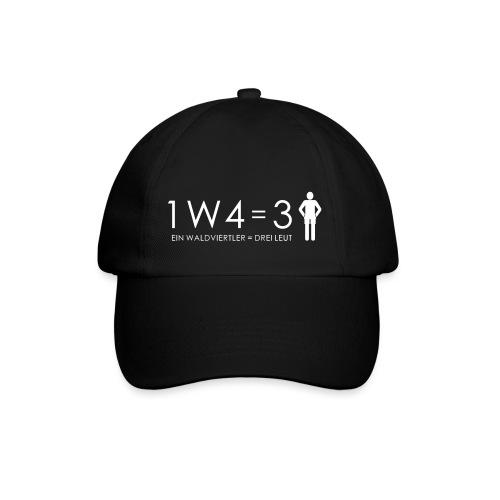 1W4 3L = Ein Waldviertler ist drei Leute - Baseballkappe