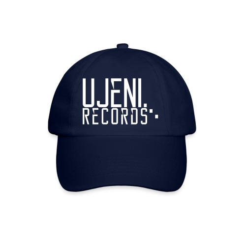 Ujeni Records Logo White - Baseball Cap
