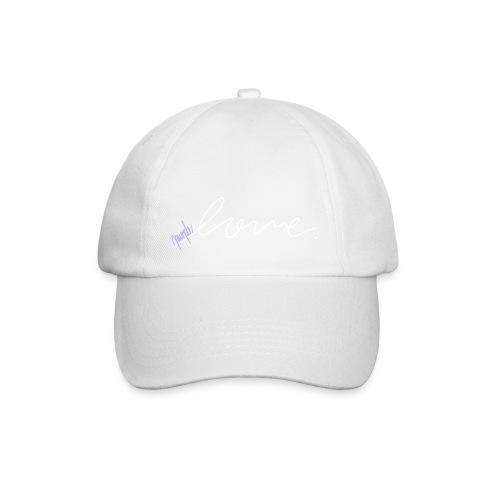 Purple Love ARMY (white) - Baseball Cap