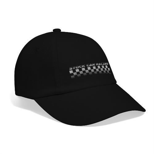 Stock Car Racing chequered flag - Baseball Cap