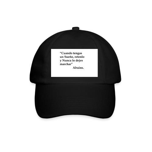 Frase camiseta Abuins 2 editado 1 - Gorra béisbol