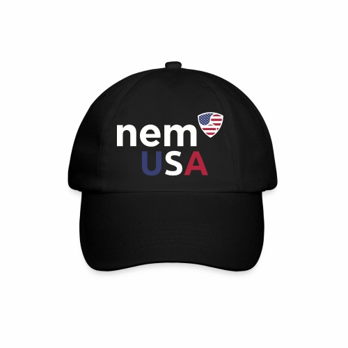 NEM USA white - Cappello con visiera