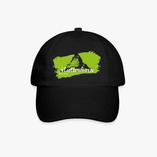 Matterhorn - Cervino en verde - Baseball Cap