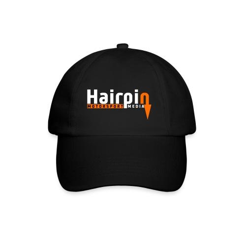 logo white text png - Baseball Cap