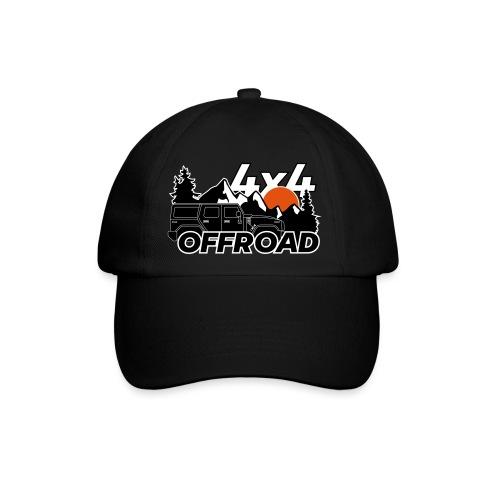 Offroad 4x4 Jeep Logo - Baseballkappe