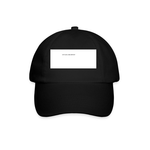 eat sleep sing - Baseball Cap