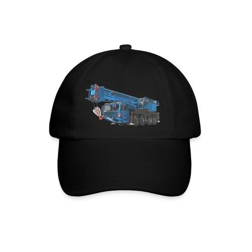 Mobile Crane 4-axle - Blue - Baseball Cap