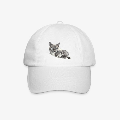 Snow and her baby - Baseball Cap
