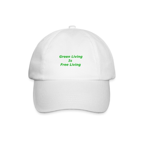 Green Living - Baseballkasket