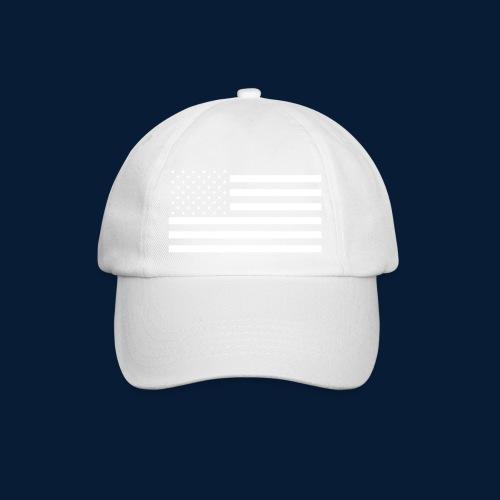 Stars and Stripes White - Baseballkappe