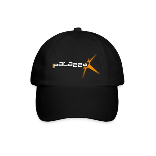 Palazzo Logo Klassik white - Baseballkappe