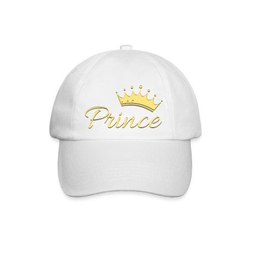 Prince Or -by- T-shirt chic et choc - Casquette classique