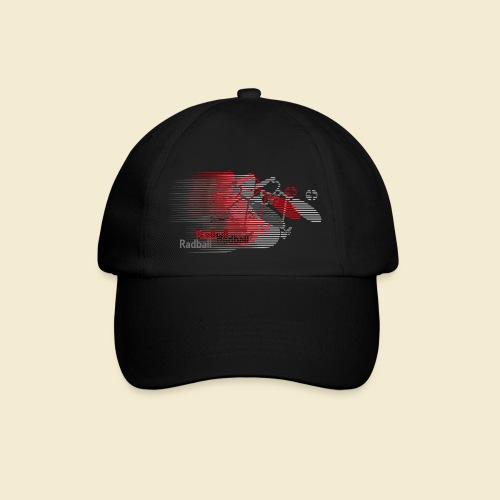 Radball | Earthquake Red - Baseballkappe