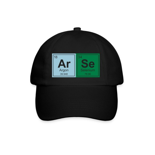 Geeky Arse Periodic Elements - Baseball Cap