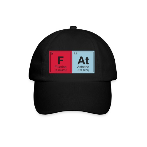 Geeky Fat Periodic Elements - Baseball Cap