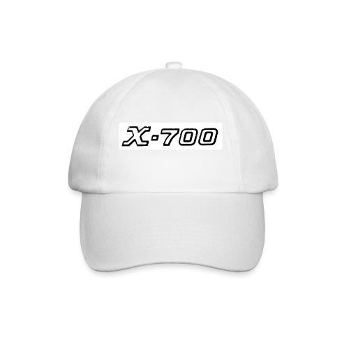 Minolta X-700 White - Cappello con visiera