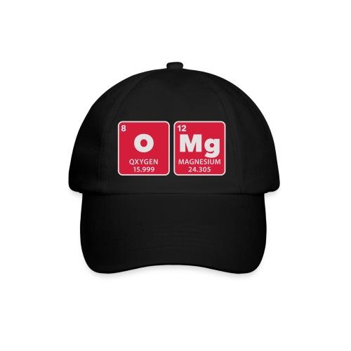 periodic table omg oxygen magnesium Oh mein Gott - Baseball Cap